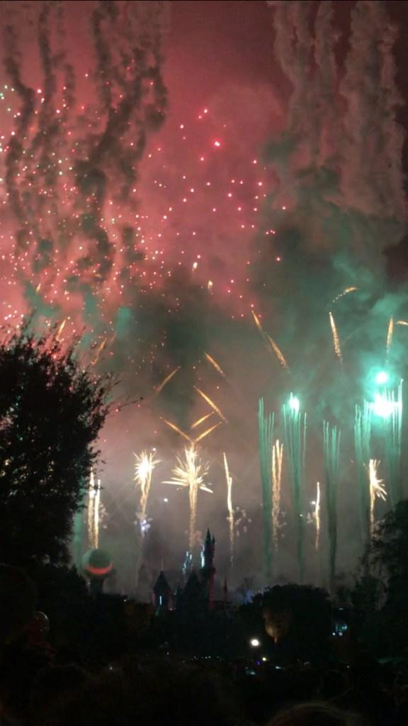 Mickeys Halloween Party Fireworks