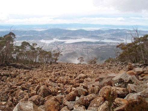 Mt Wellington Summit, Hobart, Tasmania