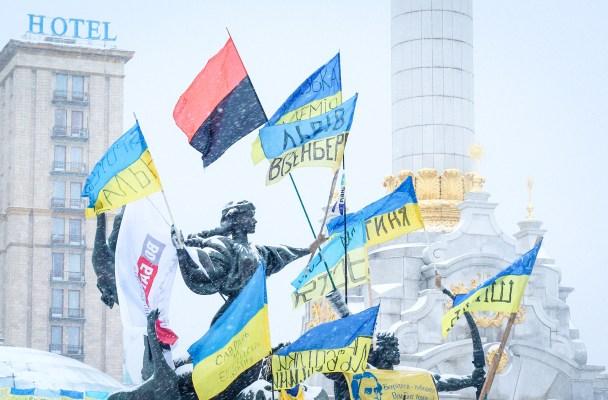 4 days in Kiev during Ukraine's political unrest