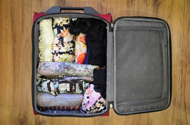 The art of packing lightly: How to fit a week in a carry on bag