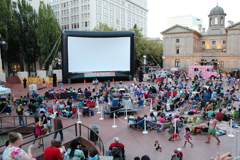 Pioneer Courthouse Square, Portland