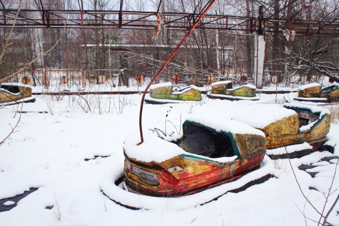 How to travel inside the Chernobyl exclusion zone