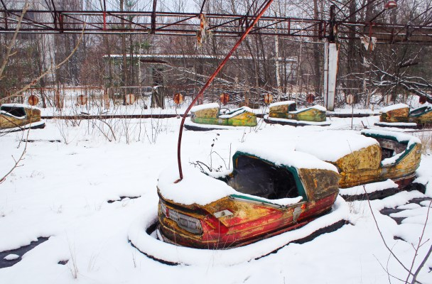 Video footage from inside the Chernobyl exclusion zone