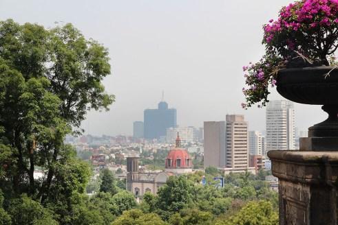 Views from Castillo Chapultepec, Mexico City
