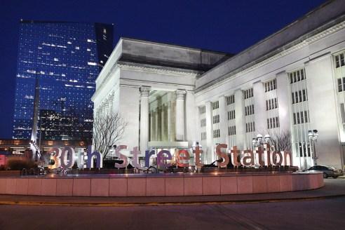 30th street station, Philadelphia