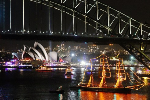 Sydney New Year's Eve boat cruise