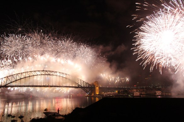 New Year's Eve fireworks in Sydney