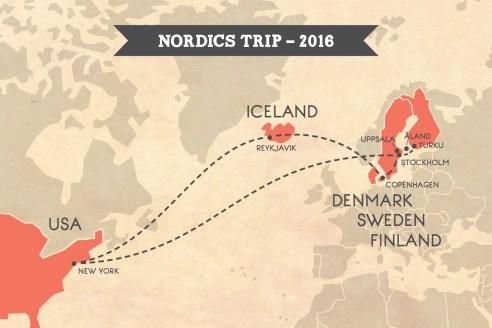 Nordics Trip Itinerary