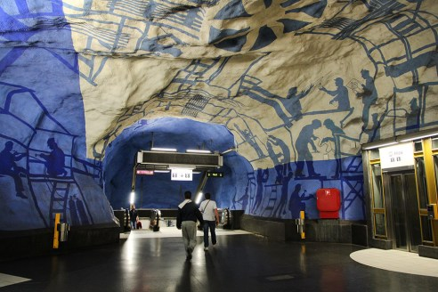 Stockholm Subway Central Station