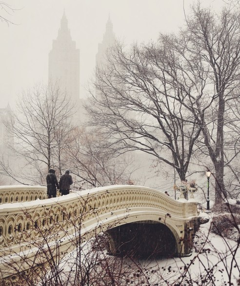 Central Park photo spots in NYC