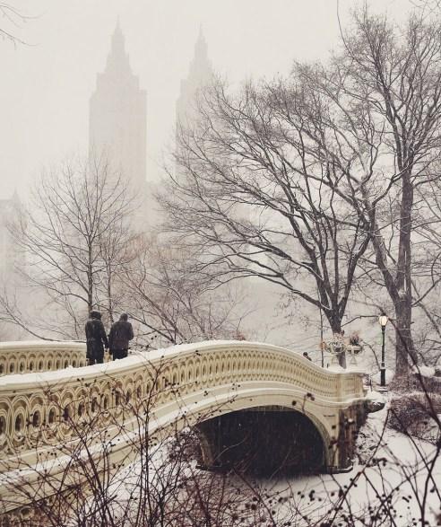 Central Park photo spot, NYC
