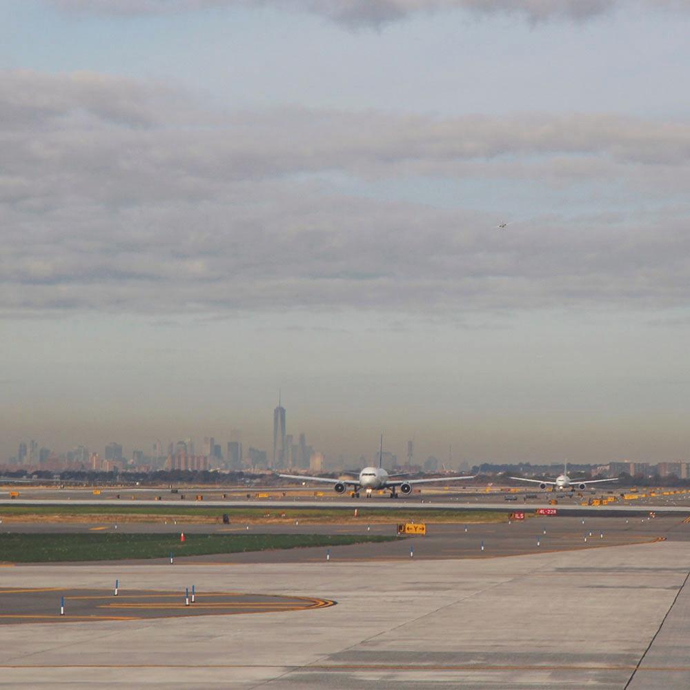JFK airport, New York City