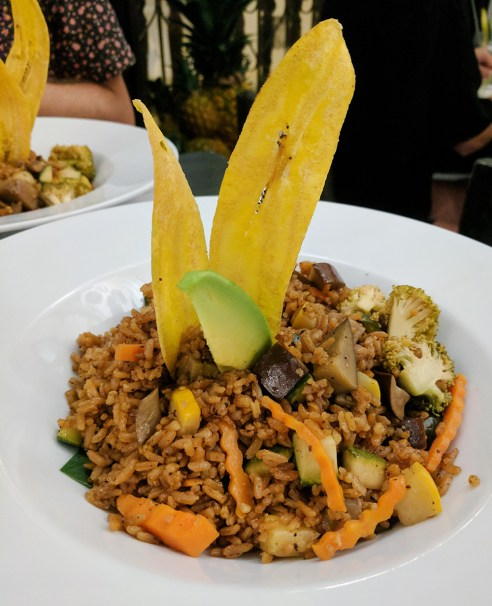 Caribbean food in Cartagena, Colombia