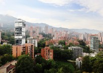 Medellin skyline, Colombia