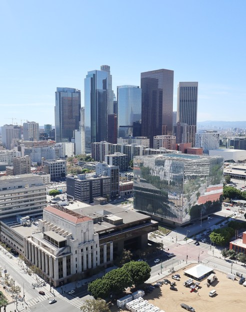 View from City Hall, Los Angeles