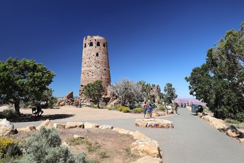 Desert View Watchtower, The Grand Canyon