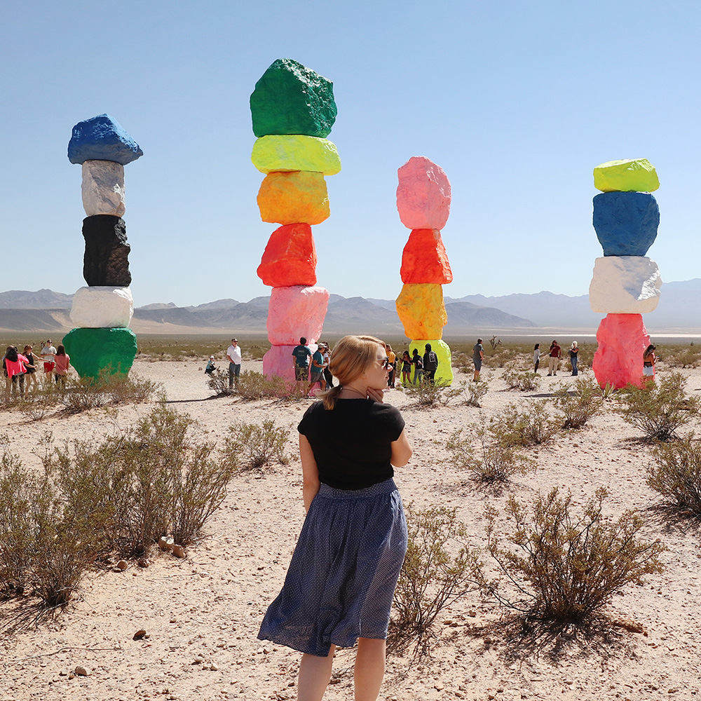 Seven Magic Mountains, Las Vegas