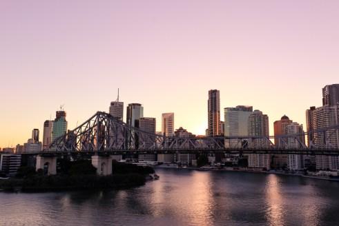 Brisbane skyline from Wilson Outlook Reserve