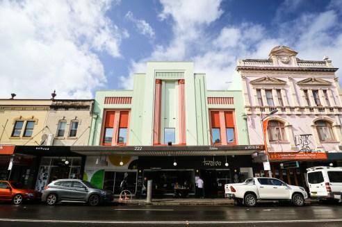 Street facades in Newtown, Sydney