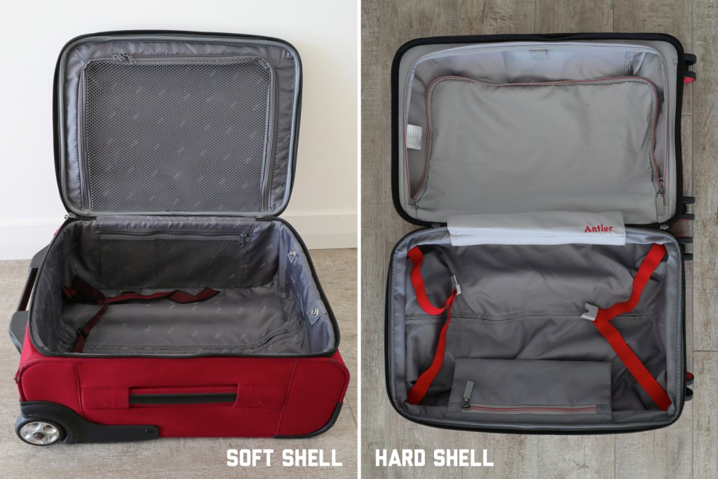 Soft shell vs hard shell luggage