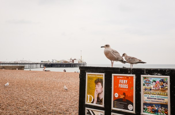 A self-guided walking tour of Brighton, UK