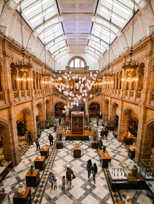 Kelvingrove Art Gallery, Glasgow, Scotland