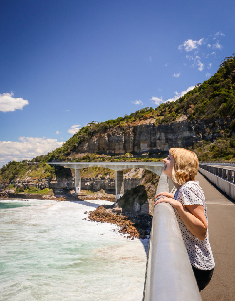 Sea Cliff Bridge on Grand Pacific Drive, Australia