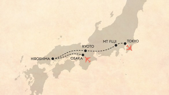 My 2 week itinerary for a trip to Japan