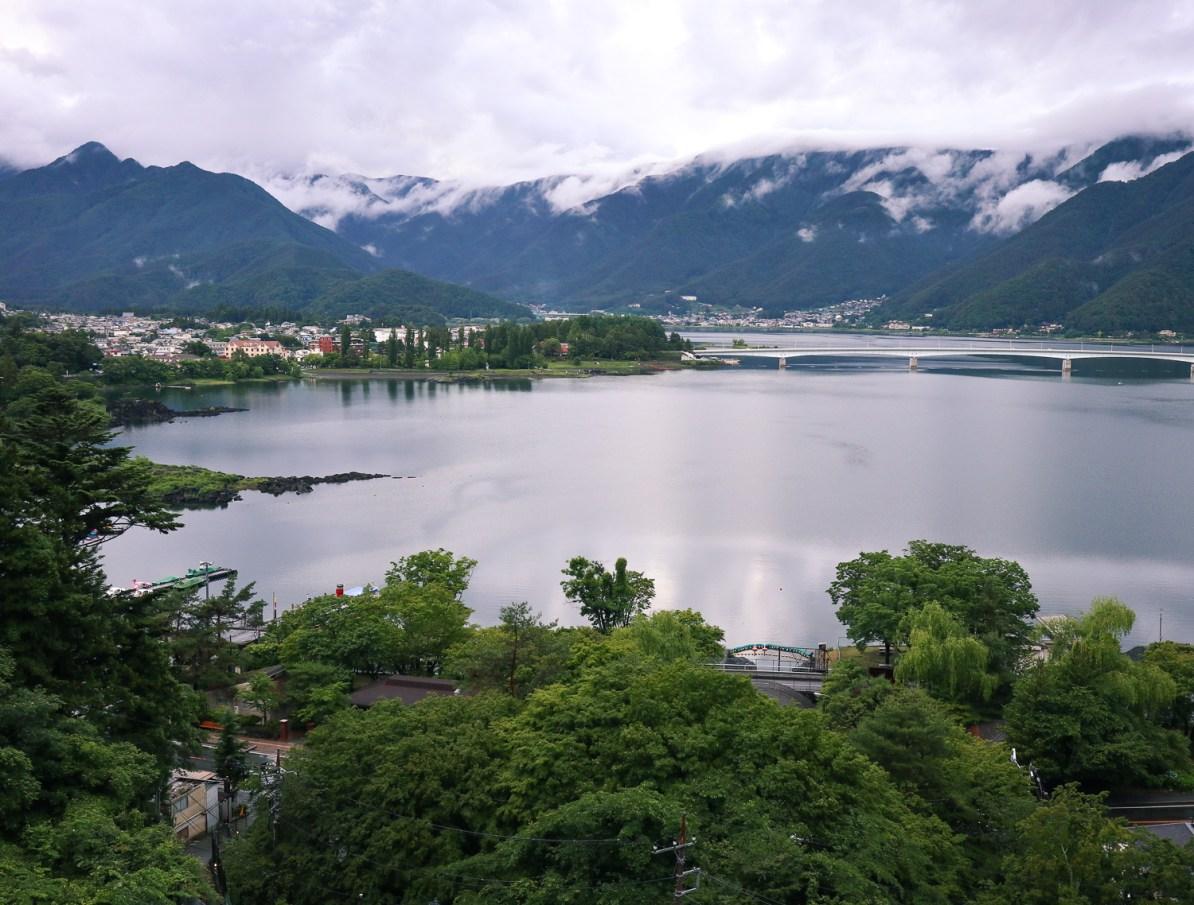 Lake Kawaguchi, Mt Fuji, Japan