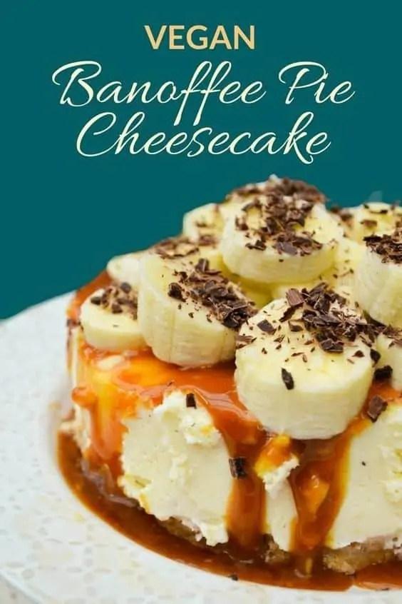 Vegan Banoffee Pie Cheesecake