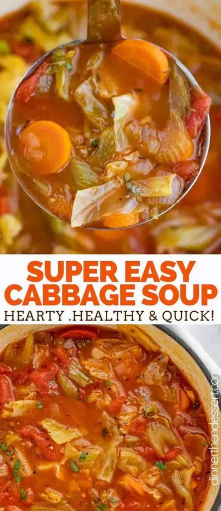 Cabbage Vegetarian Soup