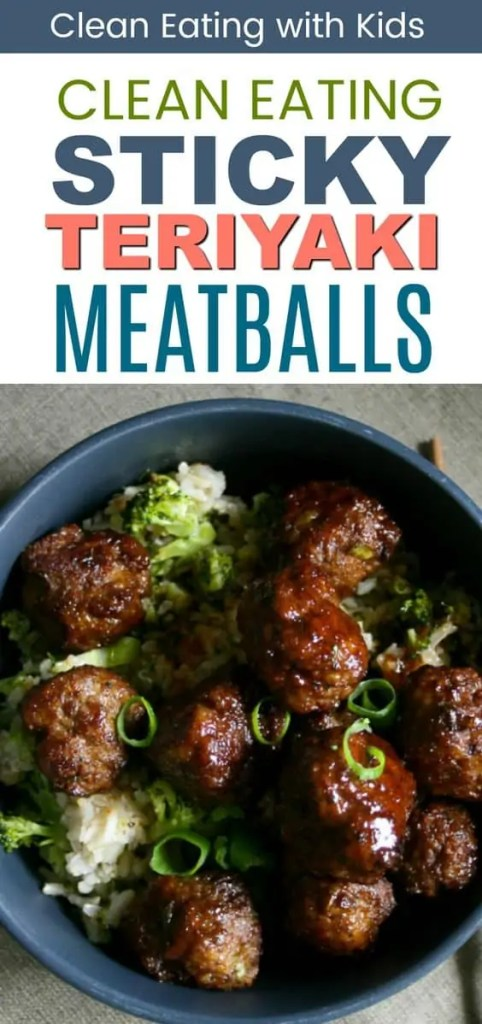 Sweet and sticky teriyaki meatballs