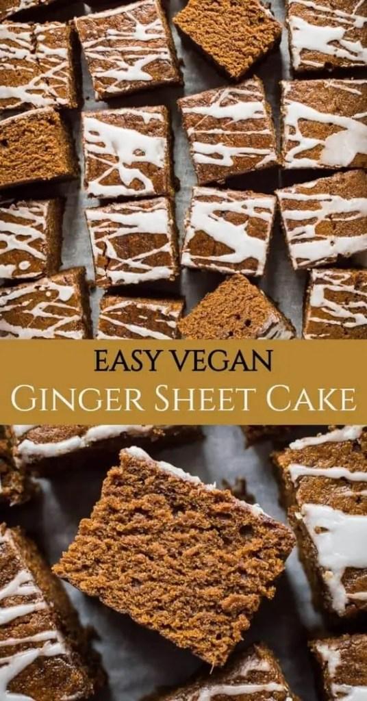Easy Vegan Ginger Cake