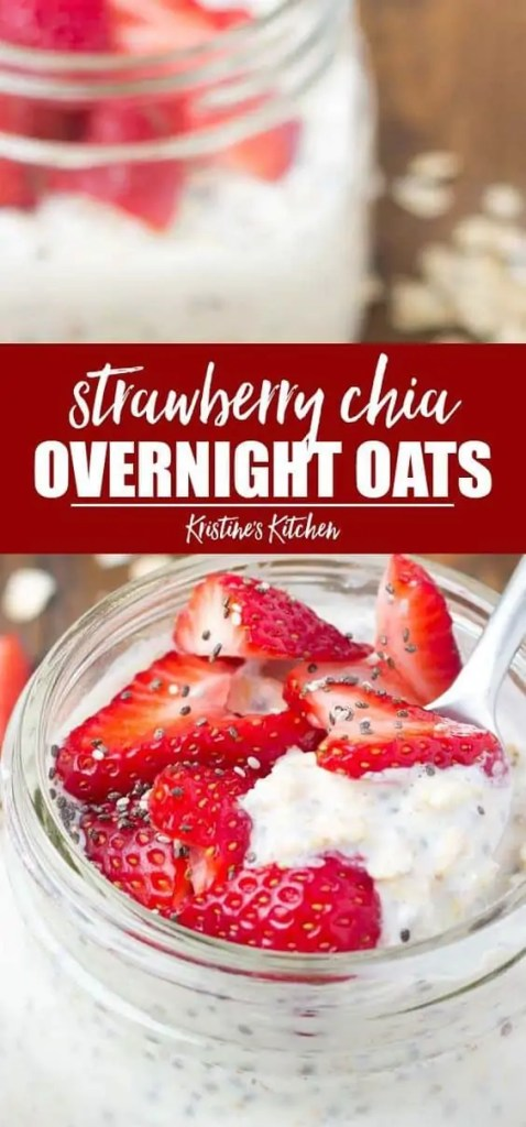 Strawberry Chia Overnight Oats