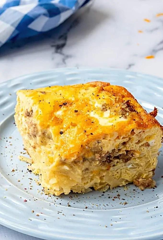 Easy Hashbrown Breakfast Casserole