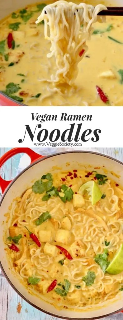 Easy Vegan Ramen Noodles