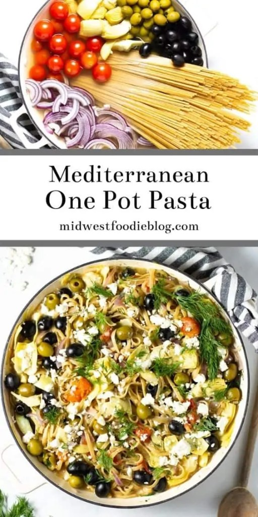 Mediterranean One Pot Pasta