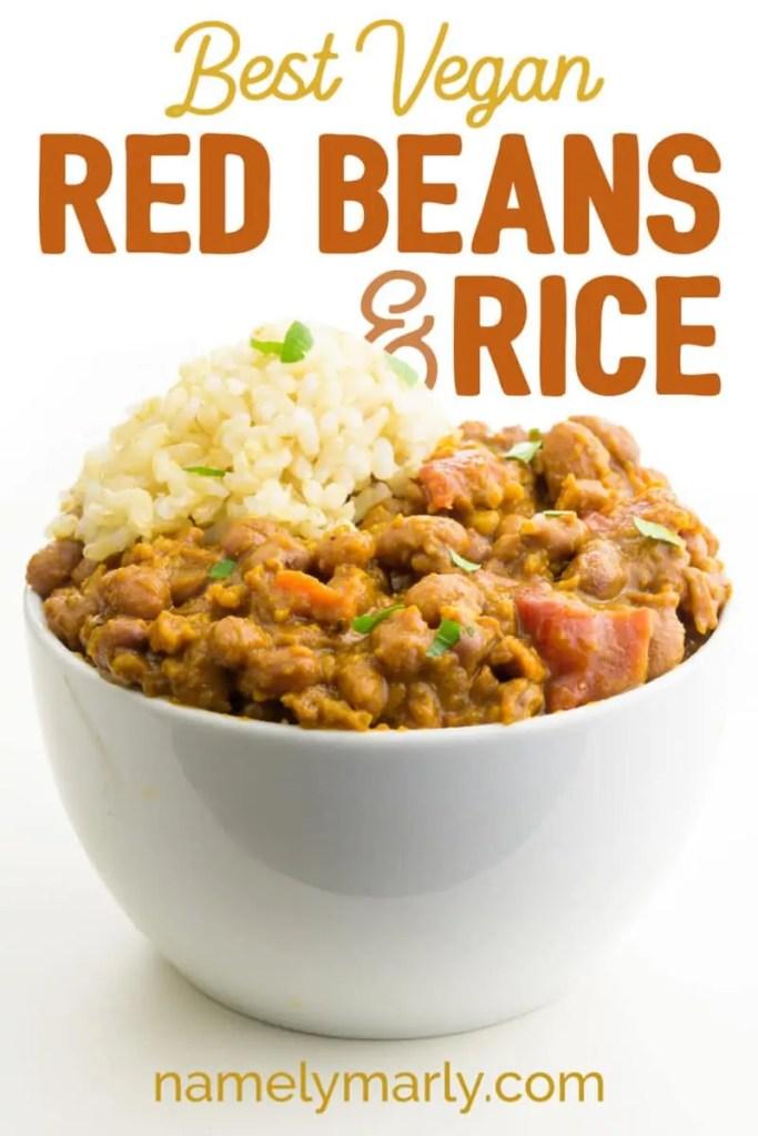 Vegan Red Beans and Rice Recipe