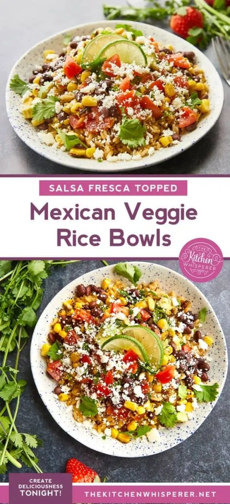 Mexican Veggie Rice Bowls