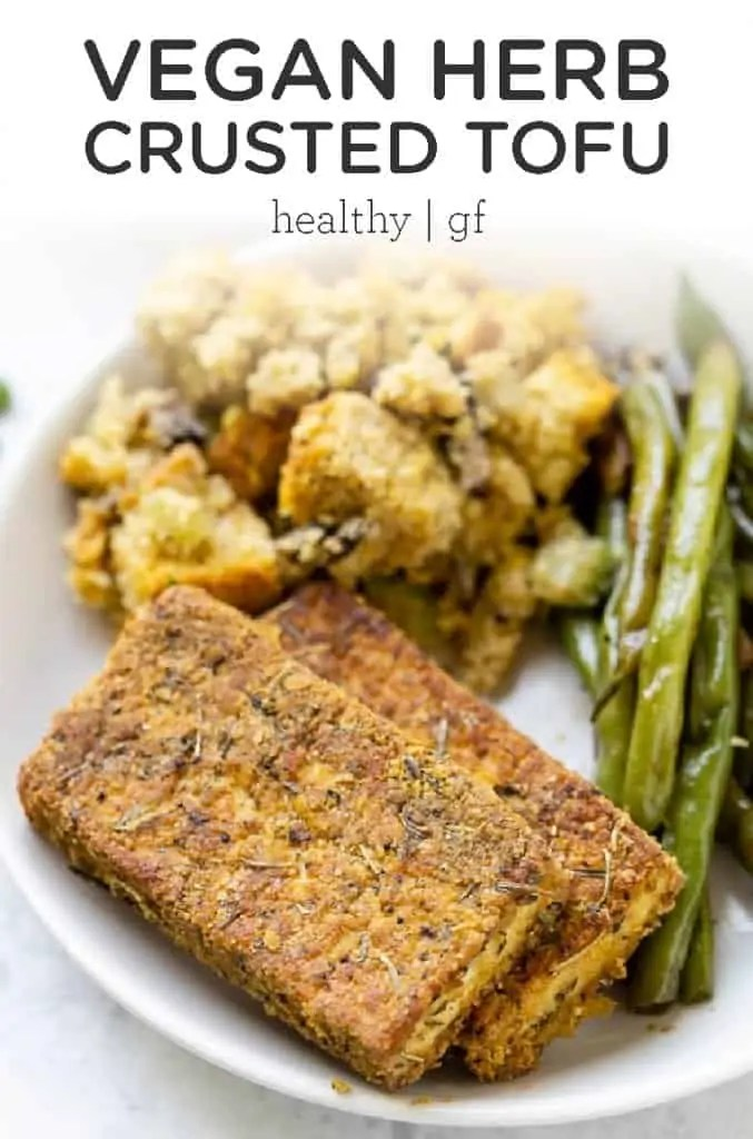 Herb Crusted Tofu
