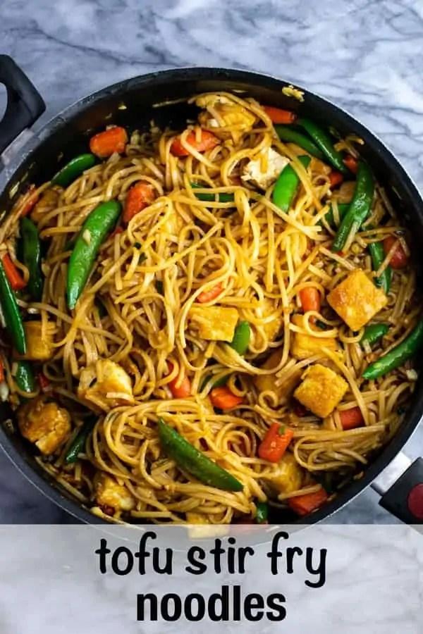 Tofu Stir Fry Noodles