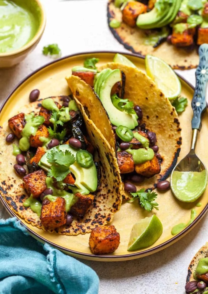 Chipotle-Roasted Butternut Squash Tacos