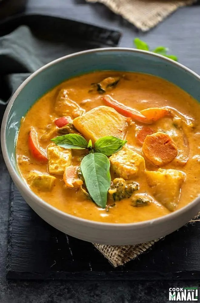 Instant Pot Vegan Panang Curry