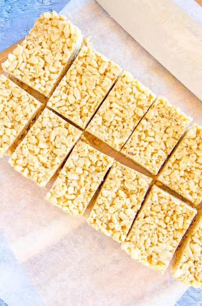 No-Bake Rice Bubble & Oat Slice