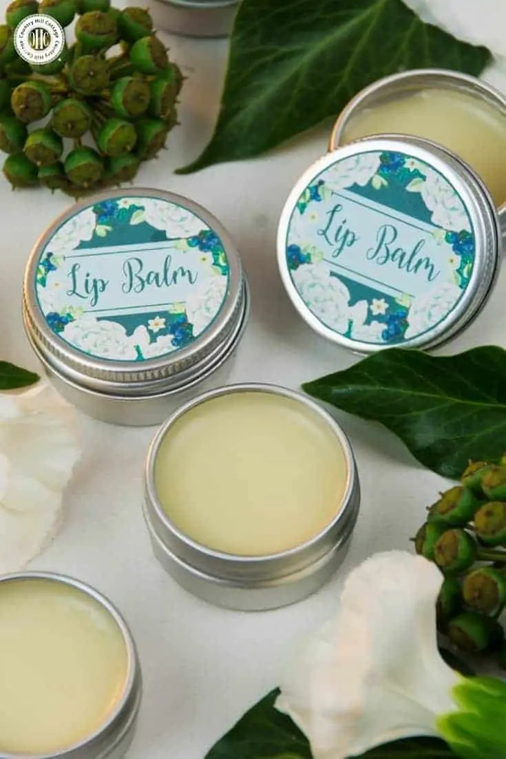 All-Natural 4-Ingredient Lip Balm