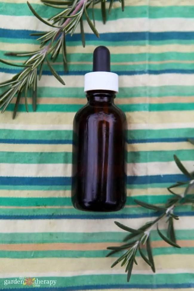 Natural Hair Serum Recipe with Rosemary and Jojoba