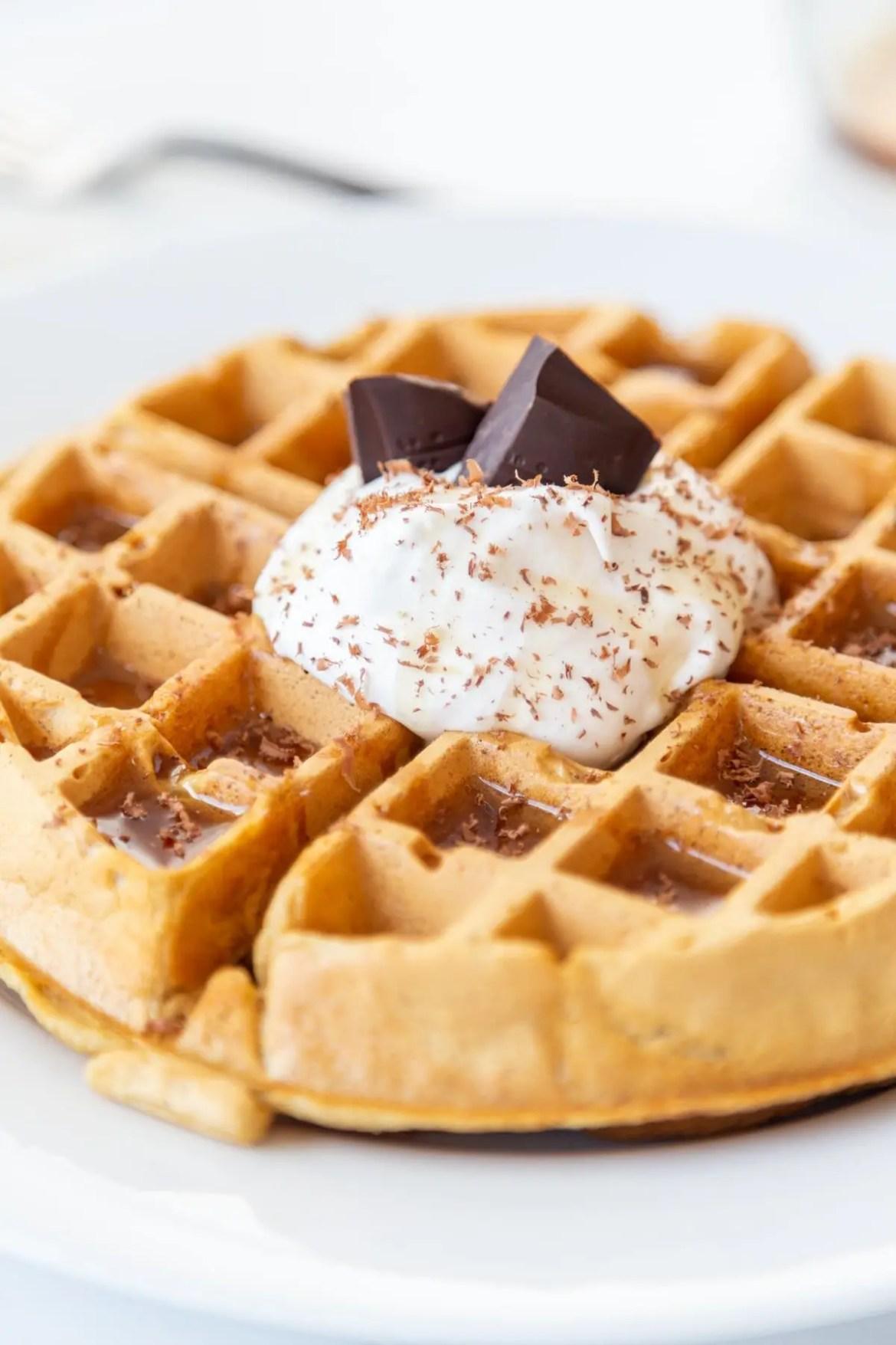 vegan Buttermilk Waffles