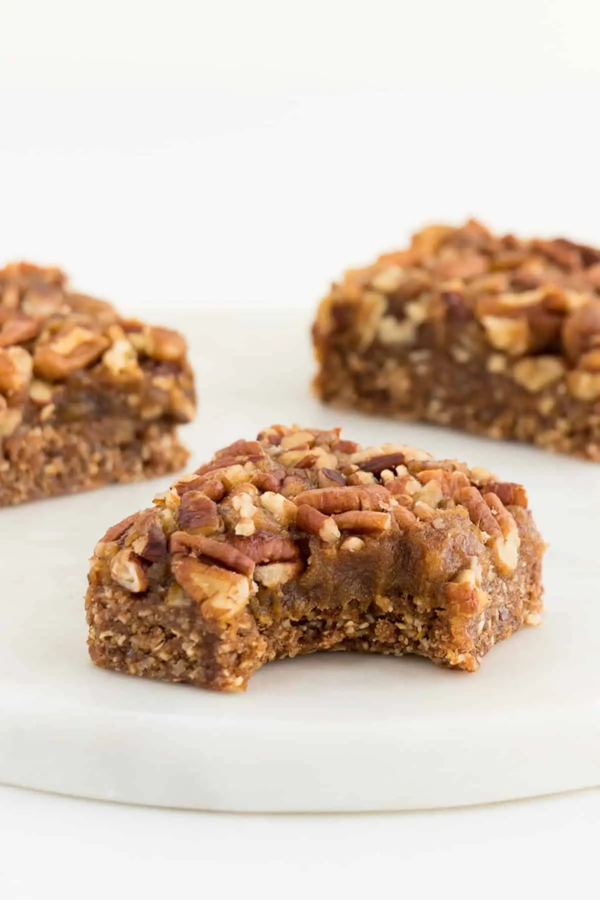 No Bake Pecan Pie Bars