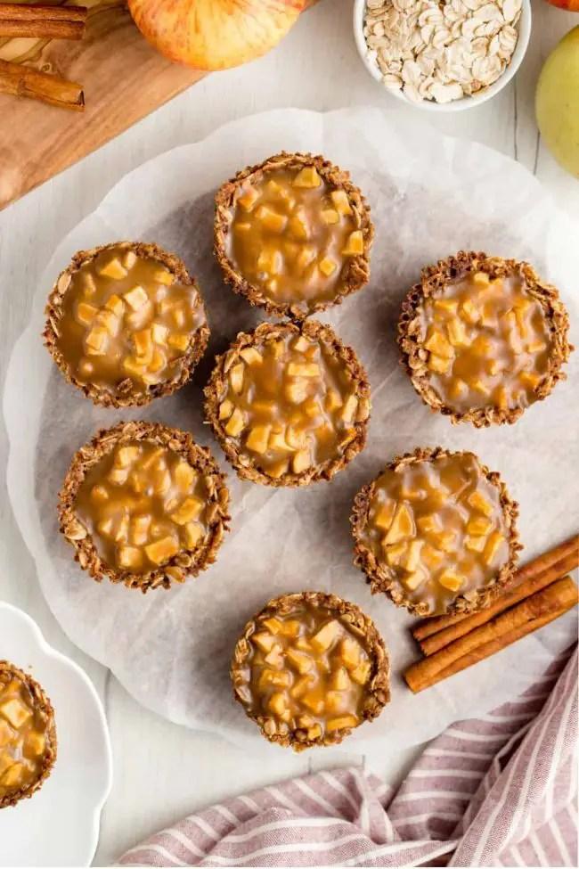 Mini Apple Pies with Caramel