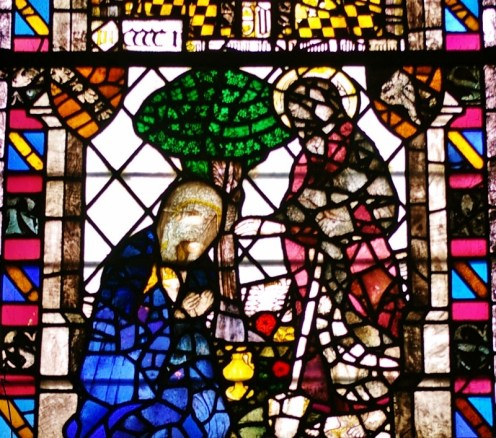 Mary meets the Lord: York Minster